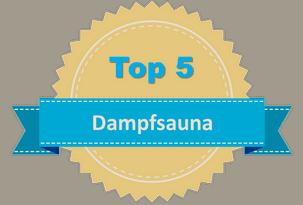 Top 5 Dampfsauna