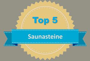 Top 5 Saunasteine