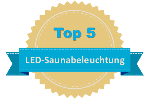 Top 5 LED-Saunabeleuchtung