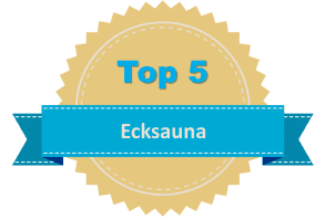 Top 5 Ecksauna