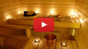Sauna Bademantel